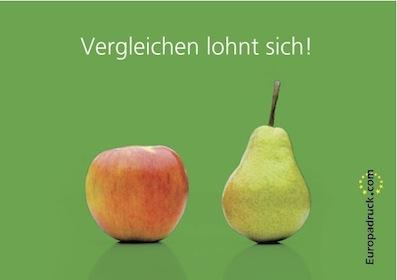 Broschürendruck Nürnberg im Vergleich
