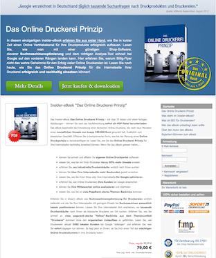 Das Online Druckerei Prinzip