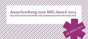 MfG Award
