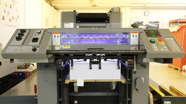 LED UV Offsetdruck