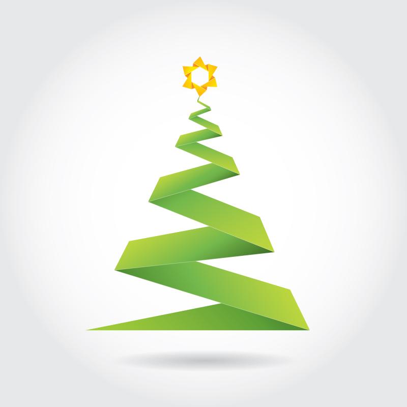 1-08 origami-christmas-tree
