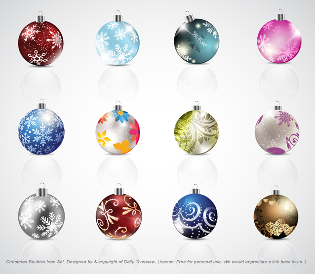 2-03 christmas_baubles_icon_set